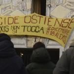 OSTIENSE, IN CORSO SGOMBERO CENTRO SOCIALE ALEXIS - FOTO 7