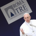 Pope Francis' visit to the University Roma Tre