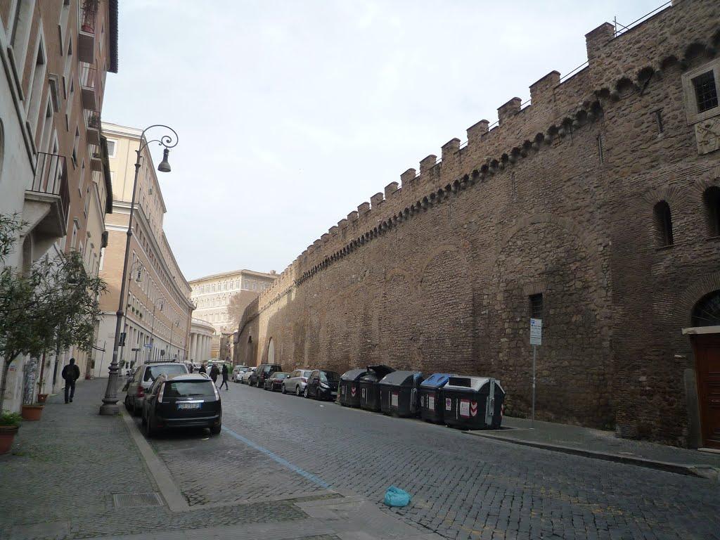 Vaticano allarme bomba a borgo sant 39 angelo artificieri - Le finestre sul vaticano ...
