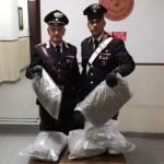CASSIA - La droga sequestrata dai Carabinieri (2)