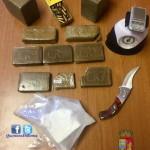 Droga sequestrata (Foto Polizia di Stato)