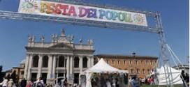 """FESTA DEI POPOLI, DOMENICA ANCHE LE ACLI DI ROMA A SAN GIOVANNIPER""""COSTRUIRE PONTI E NON MURI"""""""