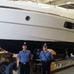 La yacht sequestrato dai Carabinieri (1)