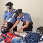 POMEZIA - La refurtiva recuperata dai Carabinieri
