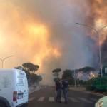 ++ Rogo Castelfusano:fiamme in più punti,non escluso dolo ++