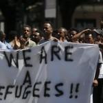 Rifugiati protesta