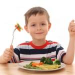 verdure bambini