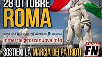 """IL QUESTORE VIETA LA MANIFESTAZIONE """"ROMA AI ROMANI"""" DI FORZA NUOVA"""