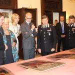 Un momento della cerimonia (Foto Carabinieri)