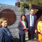 Inaugurazione Domus ecologica ad Ostia (Foto Omniroma)