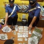 EUR - La droga sequestrata dai Carabinieri (2)
