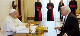 MIGRANTI E UE NEI COLLOQUI TRA FRANCESCO E IL PRESIDENTE TEDESCO STEINMEIER