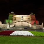 ITALIA 150: TRICOLORE ILLUMINA COMPLESSO VITTORIANO