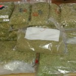 FRASCATI - 5 kg di marijuana sequestrati dai Carabinieri (2)