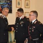 Il Generale de Vita si complimenta con i CC Roma Tor Sapienza (1)