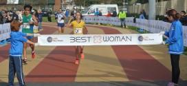 FATNA MARAOUI E ALTRE 2.500 RUNNER ALLA 'BEST WOMAN'