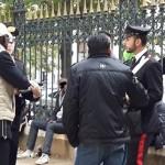 PIAZZA DANTE - Controlli dei Carabinieri nel Rione Esquilino (1)