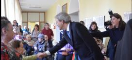 PAOLO GENTILONI HA VISITATO IL PICCOLO COTTOLENGO DI DON ORIONE